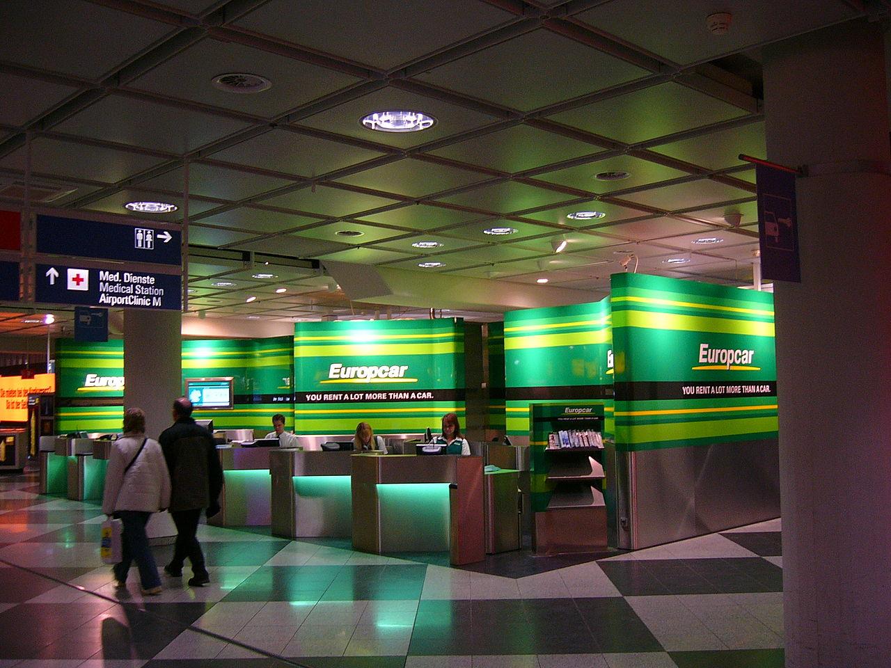 Alquiler de coches-Europcar