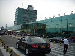 Aeropuerto Jorge Chávez.