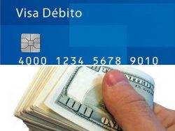 Se puede pagar con tarjeta débito o efectivo